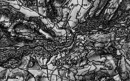 Old map of Pont-rhyd-y-groes in 1898