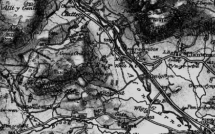 Old map of Alltwnnog in 1899