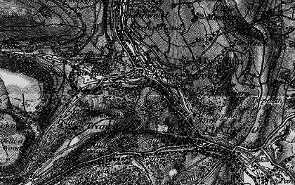 Old map of Pontnewynydd in 1897