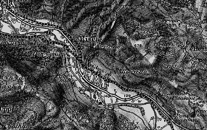 Old map of Pontymister in 1897