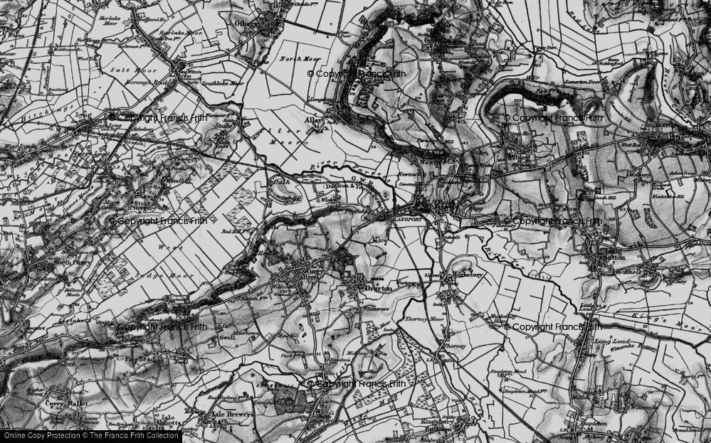 Old Map of Portfield, 1898 in 1898