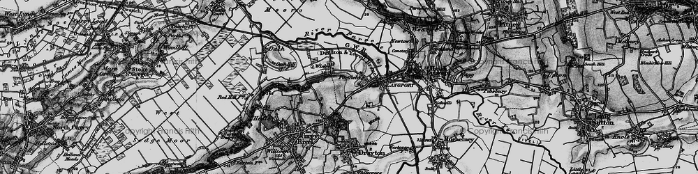 Old map of Portfield in 1898