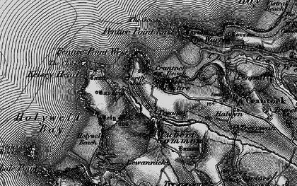 Old map of Porth Joke in 1895