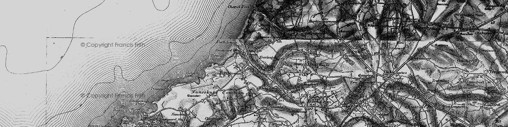 Old map of Tobban Horse in 1895