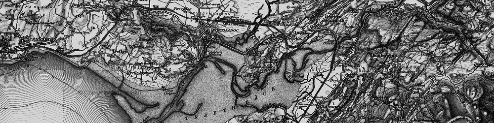 Old map of Portmeirion in 1899