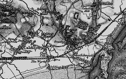 Old map of Portskewett in 1897