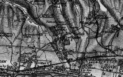 Old map of Portslade in 1895