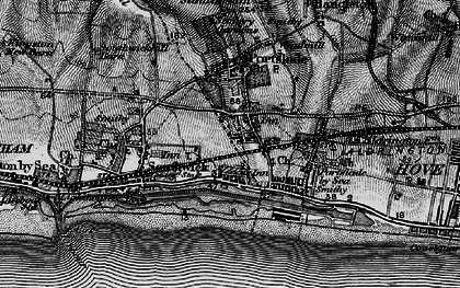 Old map of Portslade-By-Sea in 1895