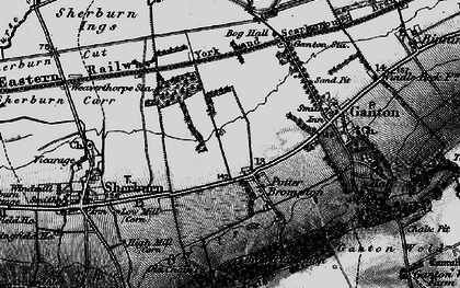 Old map of Allison Wold Fm in 1898