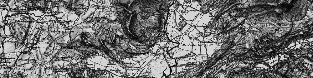 Old map of Prenteg in 1899