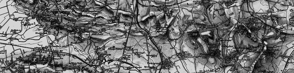 Old map of Agricultural Show Ground in 1898