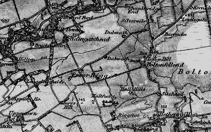 Old map of Whiteclose in 1897