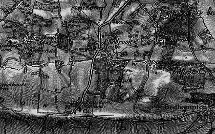 Old map of Purbrook in 1895