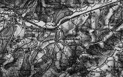 Old map of Ashdown Ho (Sch) in 1895