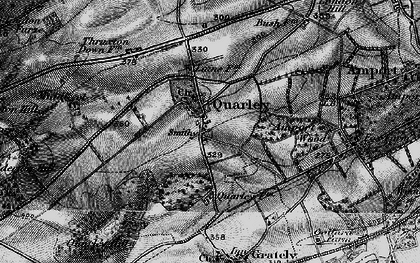 Old map of Amport Wood in 1898