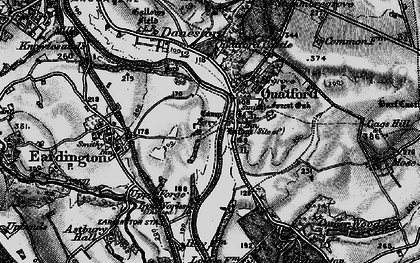 Old map of Quatford in 1899