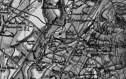 Old map of Askew Hill in 1898