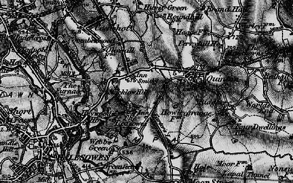 Old map of Quinton in 1899