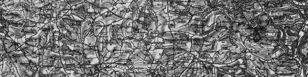 Old map of West Whitnole in 1898