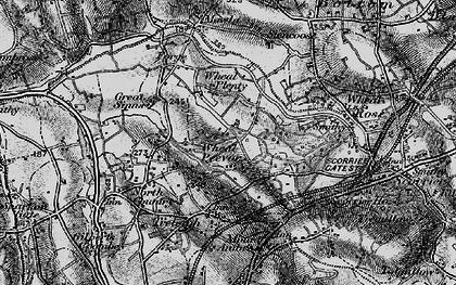 Old map of Radnor in 1895