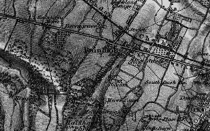 Old map of Rainham in 1895