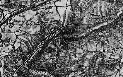 Old map of Rake in 1895