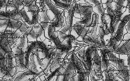 Old map of Rame in 1895