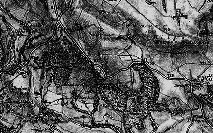 Old map of Wootton Park in 1897