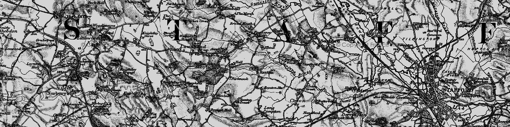 Old map of Williams's Wood in 1897