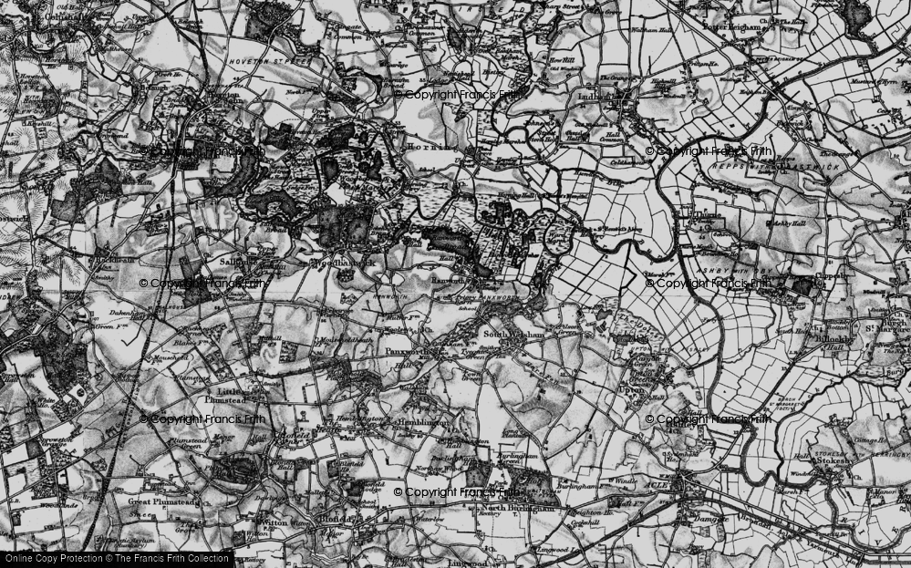 Old Maps of Ranworth - Francis Frith