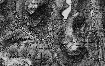 Old map of Alderson Seat in 1897