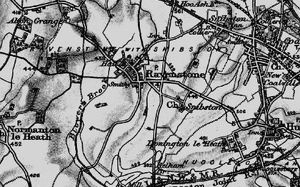 Old map of Alton Grange in 1895