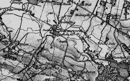 Old map of Ravensworth in 1897