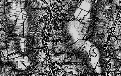 Old map of Rawtenstall in 1896