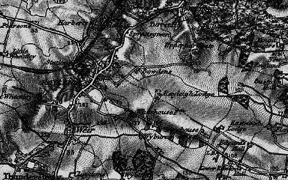 Old map of Rayleigh in 1896