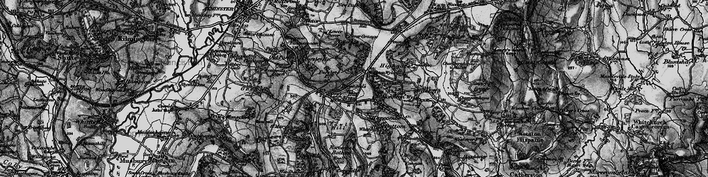 Old map of Whitty Hill in 1898