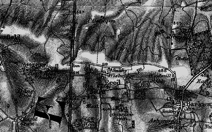 Old map of Reed in 1896