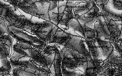 Old map of Rejerrah in 1895