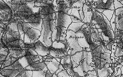 Old map of Releath in 1895