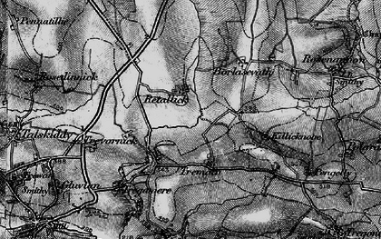 Old map of Retallack in 1895