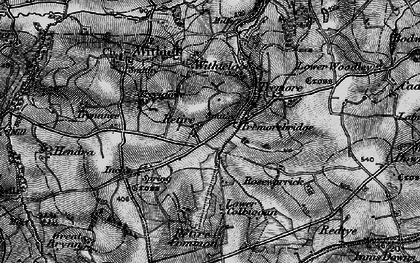 Old map of Retire in 1895