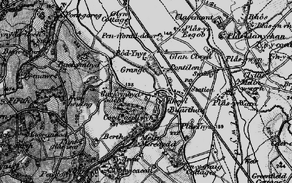 Old map of Bachymbyd Fawr in 1897