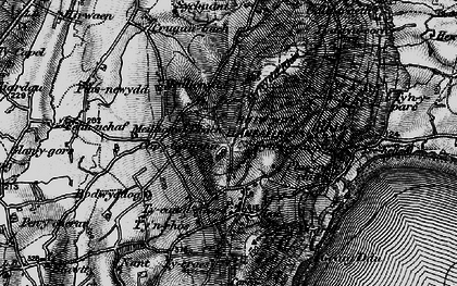 Old map of Rhiw in 1898