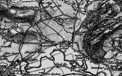 Old map of Aberhafesp in 1899