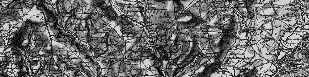 Old map of Alltyrodyn in 1898