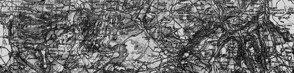 Old map of Aber Tairnant in 1897