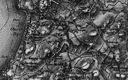 Old map of Rhydwyn in 1899