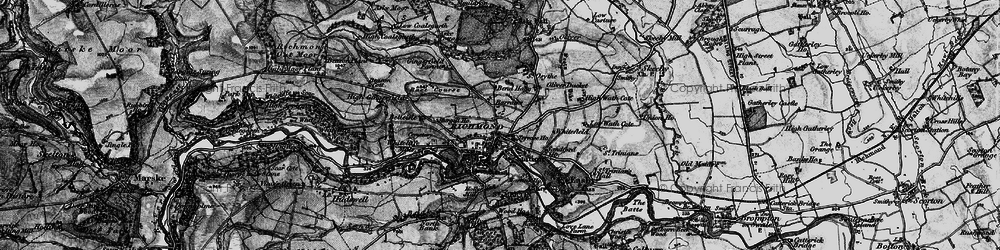 Old map of Richmond in 1897