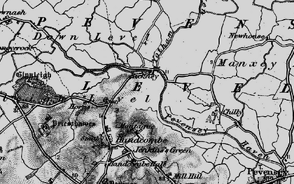 Old map of Yotham in 1895
