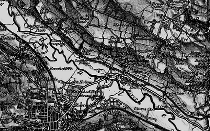Old map of Leache's Br in 1898